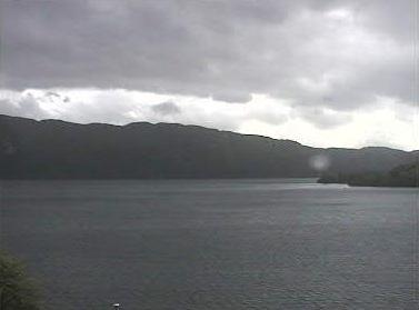 Veduta del lago di Loch Ness. Clicca per Ingrandire.